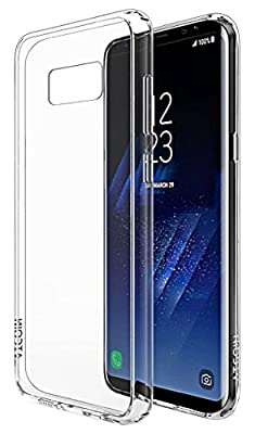 ATGOIN Scratch Resistant Crystal Clear Flexible TPU Gel Rubber Soft Silicone Protective Case for Samsung Galaxy S8 Plus 2017 Release