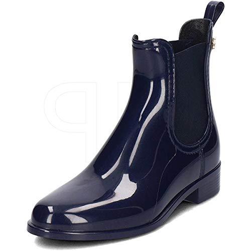 Lemon Jelly Damen Gummi-Boots Comfy 41 Blau Synthetik 39