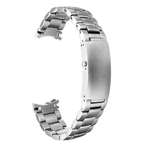 Correa de repuesto de 20 mm para correa de reloj Omega Seamaster Planet Ocean, cierre con hebilla de reloj reemplazable. Longitud