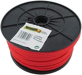 GUMMISEIL 100/m Blanco 10/mm Goma cuerda de goma cuerda cuerda planificar cuerda Soga el/ástica el/ástico cuerda tensar y fijar
