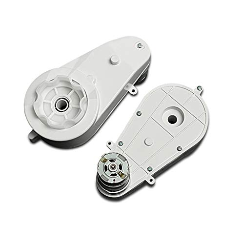 Elenxs 2 Piezas de 12V 30000RPM Motor eléctrico Caja de Engranajes para...