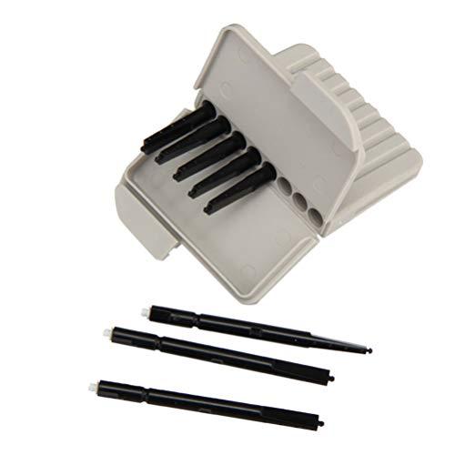 Healifty 1 Juego de Filtro de Protección de Cera para Audífonos para Trampas de Cera Resonante Phonak Widex Escuchar Accesorio de Kit de Limpieza Claro