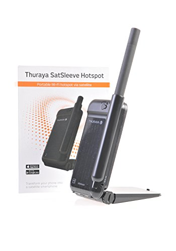 Thuraya Satellite SatSleeve Wi-Fi Hotspot smartphone