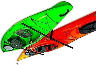 StoreYourBoard 2 Kayak Ceiling Rack, Hi Port 2 Storage Hanger Overhead Mount, Adjustable