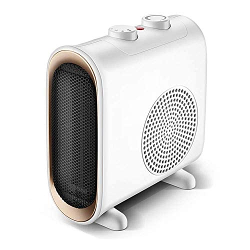 41zaIh83UcL. SS500  - AHELT-J Ceramic Space Heater for Office - Small Portable Electric Oscillating Heater with 3 Gears Thermostat, Fast…