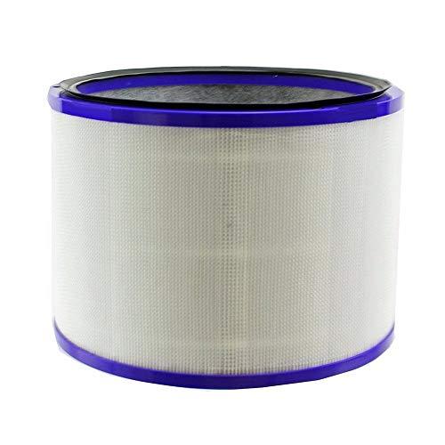 CAIM Accessoires pour Aspirateur 1 Pc DP01 Cleaner Air Top Filtre for Dyson Cool Pur Lien de Purification d'air Bureau Ventilateur 967449-04 Modèle HP02 Filtres Pièces Accessoires Remplacement