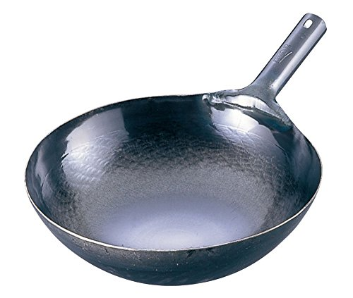 Yamada Made in Japan Iron Wok Chinese pan for Professional 36cm from Japan
