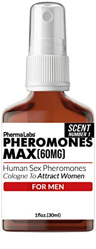 Attract Beautiful Women Phermones Max Cologne For men - PhermaLabs 1 oz bottle Scent Number 1
