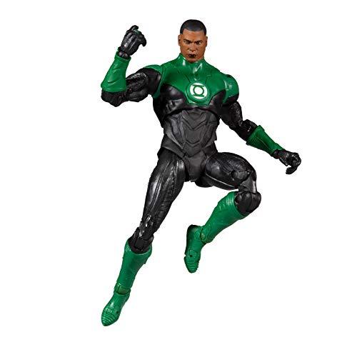 "McFarlane Toys DC Multiverse Modern Comic Green Lantern (John Stewart) 7"" Action Figure"