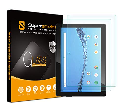 (2 Pack) Supershieldz Designed for Digiland 10.1 inch Tablet (DL1036) Screen Protector, (Tempered Glass) Anti Scratch, Bubble Free