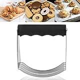 Emoshayoga Utensile da Forno per Cutter per Burro Frullatore per Pasta Facile da Pulire antiruggine da Cucina Robusta e Durevole per la casa(TPR Handle)