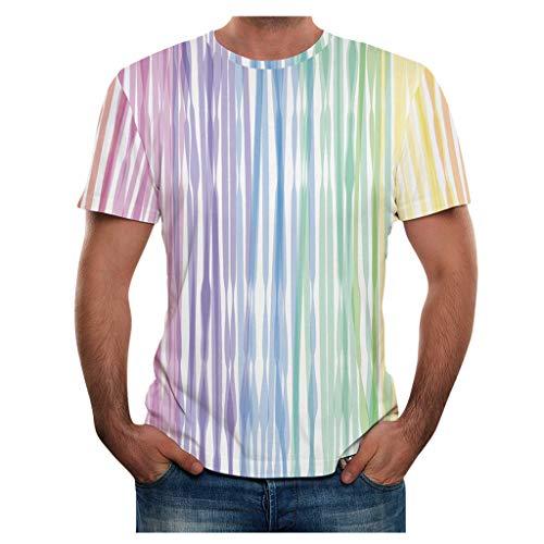 Yowablo - Yoga-Achselshirts für Herren in 13mehrfarbig, Größe 3XL