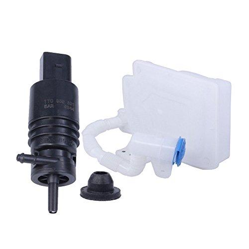 RED 2Pcs Universal Aluminum Alloy Car Auto Front Windshield Sprayer Washer Nozzles Kit Suuonee Windshield Sprayer Nozzle