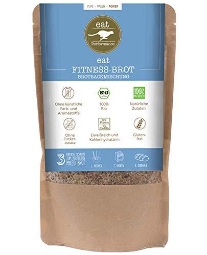 eat Performance® Fitness Brotbackmischung (565g) - Bio, Paleo, Glutenfreies Brot Aus 100% Natürliche Zutaten