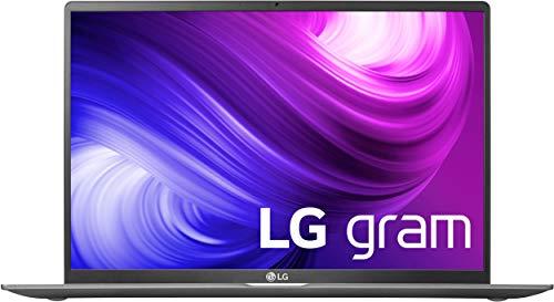 LG gram 17 Zoll Business Notebook - 1,35 kg leichter Intel Core i5 Laptop (8GB DDR4 RAM, 512 GB SSD, IPS Display, Thunderbolt 3, Windows 10 Home) - Dunkelgrau