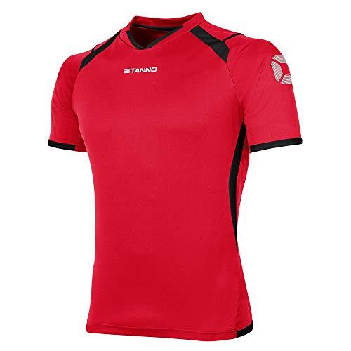 Stanno Olympico Trikot Kurzarm rot-schwarz rot-schwarz, L