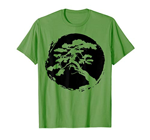Bonsai Tree Japanese Zen Master T-Shirt Gift