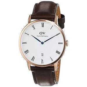 Daniel Wellington Reloj Analógico para Hombre de Cuarzo con Correa en