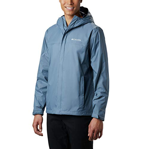 Columbia Men's Size Watertight II Waterproof, Breathable Rain Jacket, Mountain, Large Tall