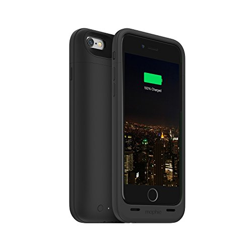 Mophie Juice Pack Plus - Protective Mobile Battery Pack Case for iPhone 6/6s - Black (Renewed)