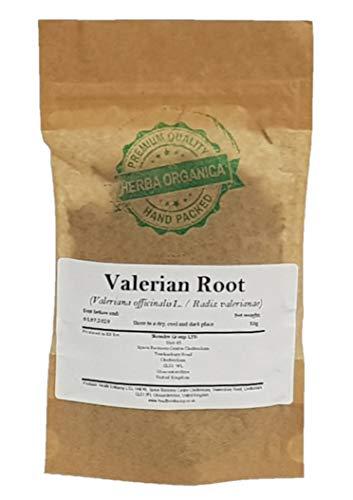 Herba Organica Echte Valeriaan Wortel - Valeriana Officinalis L / Valerian Root (50g)