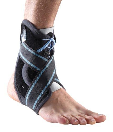 Thuasne Malleo Dynastab Fußgelenk-Bandage, zum Schnüren, stabilisiert das Fußgelenk, ideal bei Verstauchungen und Zerrungen, ideal zur Stabilisierung nach Verletzungen