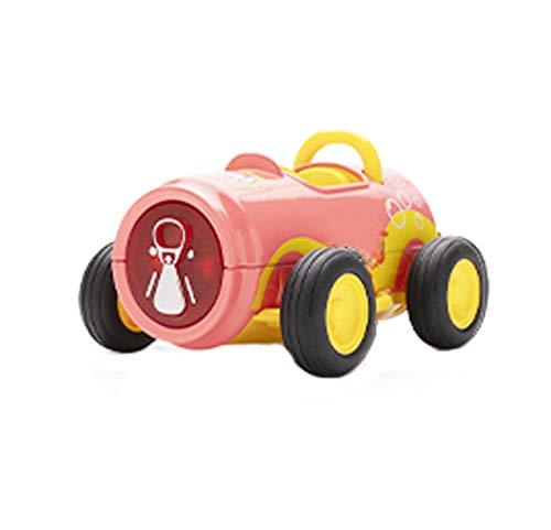 El tirar de coches de juguete Volver a proporcionar modelos de coches de juguete creativo decorativos for niños de entre 1-3.Las bebidas ligeras de coches de sonido y son adecuados for niños y niñas.