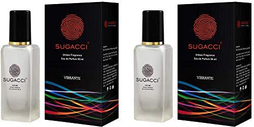 S SUGACCI Vibrante - BUY 1 GET 1 FREE - Perfume for Man - Perfume for Woman - 100ml - 50ml x 2