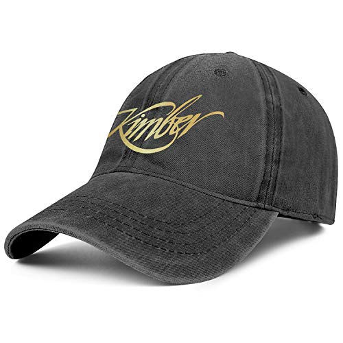 Mens Women Vintage Baseball Hats Ball Fashion Kimber Sniper Rifle Firearms Flash Gold Cap Best Caps
