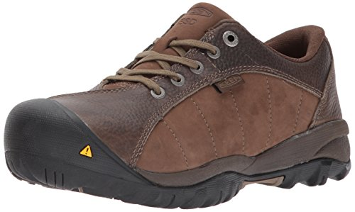 KEEN Utility Women's Santa FE at ESD Industrial & Construction Shoe, Cascade Brown/Shiitake, 8 M US