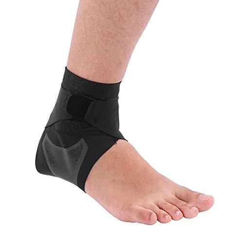 Fußgelenk-Bandage Sprunggelenkbandage für Herren und Damen, Verstellbare Kompression Knöchelorthese Neopren Knöchelstütze Sprunggelenk Stabilisator für Fersensporn, Achillessehne, Bänderriss(M-Recht)