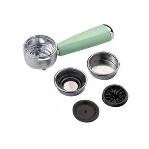 Ariete kit braccetto porta filtro verde macchina caffè Vintage Retrò 1389