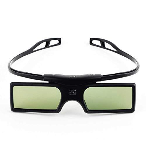 Virtual Reality Brille, 3D-Brille, Smart TV Gläser für Optoma LG Acer DLP-LINK DLP Verbindung Projektor 3D Gafas