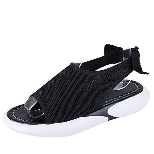 YYLP Sandalias Transpirables Deportivas De Suela Gruesa Para Mujer, Zapatos De Playa De Dos Usos