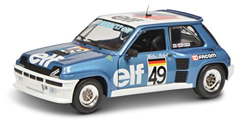 Solido 421185430 Soldio S1801307 Renault 5 Turbo, Europa Cup, Fahrer: W.Röhrl, 49, Maßstab 1:18