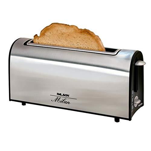 Tostadora De Tostadora automática Máquina de pan Tostador Tostador Toster Máquina de desayuno Máquina de desayuno Máquina para hornear eléctrica Electrodomésticos (Color : Light Grey)