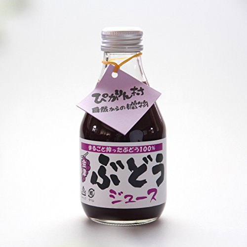 会津 無添加 ぶどうジュース【6本セット】スチューベンと巨峰をミックス 果汁100%
