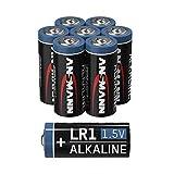 ANSMANN LR1 - Pilas alcalinas (1,5 V, 8 Unidades)