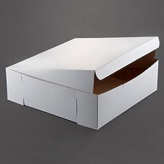 Lot of 10 Bakery or Cake Box WHITE 16x16x5