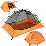 DEERFAMY 1/2 Person Compact Camping Tent,...