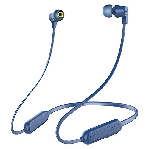 Infinity(JBL) Glide N100 Wireless Neckband with Deep Bass Dual EQ Bluetooth 5.0 & Sweatproof (Mystic Blue)