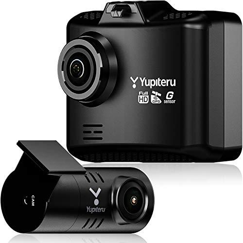 ユピテル 前後2カメラ ドライブレコーダー WDT510c シガープラグモデル 前方200万画素 後方100万画素 ノイズ対策済 LED信号対応専用microSD(16GB)付 1年保証 GPS Gセンサー 駐車監視機能 YupiteruAmazon.co.jp限定