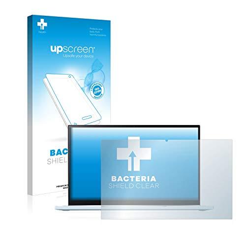 upscreen Antibakterielle Schutzfolie kompatibel mit Asus Chromebook Flip C433 2-in-1 klare Bildschirmschutz-Folie