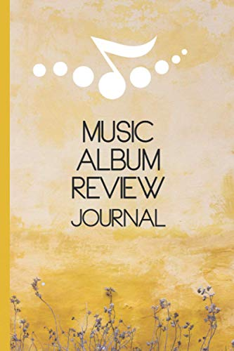 Music Album Review Journal: Record your thoughts, ratings and reviews and log your collection