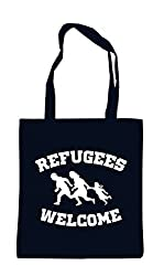 Jutebeutel refugees welcome