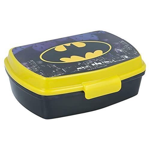 Sac à déjeuner Batman pour enfants - Boîte à déjeuner et porte-goûter pour école