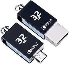 64GB USB Stick OTG to Micro USB 2 in 1 Pen Flash Drive Memory Stick 2.0 Compatible with Lenovo Yoga Tab 8, 2 A7-30, 2 10.1, 2 Pro, 2 8, 3 8, Yoga Tab 10, 2 10, 3 10, 3 Pro Tablet | 64 GB Thumb Drive