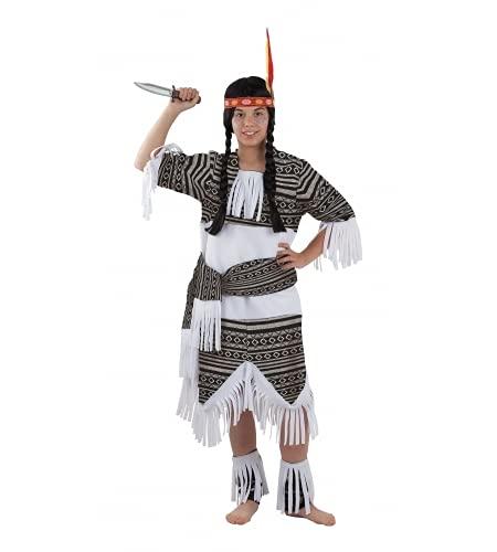 Fiesta y Carnaval, S.L.. DISFRAZ INDIA CHEROKEE INFANTIL (MODELO NUEVO) - Talla 12
