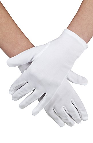 GLOVES WHITE ADULT