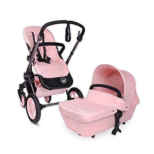 BabyAce Limited Edition - Cochecito de bebé dúo - Rosa